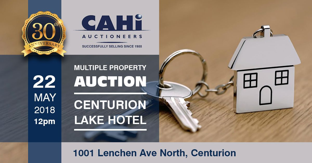 CAHi Multiple Property Auction