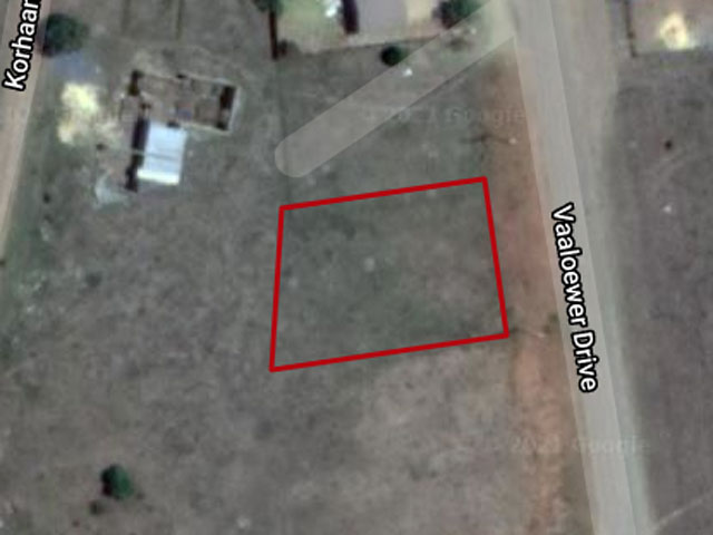 Vacant land in Vaaloewer FOR SALE